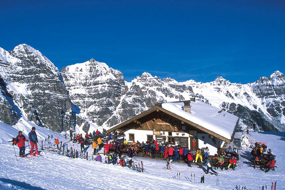 Winter, Omesberger Hof in Neustift – a holiday in the Stubai Valley in Tyrol