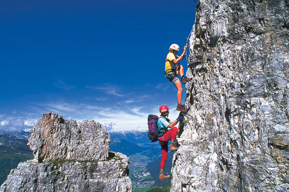 Climbing summer, Omesberger Hof in Neustift – a holiday in the Stubai Valley in Tyrol